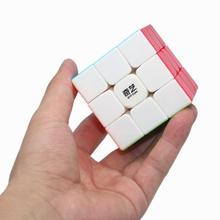 2020 qiyi cubo guerreiro w 3x3 cubo mágico qiyi guerreiro w 3x3x3 cubo mágico profissional 3x3 cubos de velocidade quebra-cabeças 3 por 3 brinquedos meninos