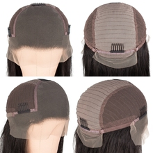 Lace Front Human Hair Wigs For Black Women Straight Wig Remy Hair PrePlucked with baby hair 13X6 13X4 130 Density