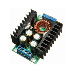 DC-DC step-down adjustable constant voltage constant current high power 10A solar charging LED driver vehicle module