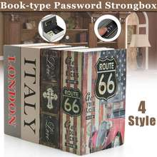 Safe-Box Coin-Storage Lock Book-Money Secret-Security Mini Hide Kid Gift Jewelry Dictionary