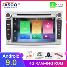 4GB RAM Android 9.0 Car Stereo DVD Player GPS Glonass Navigation for Subaru Legacy Outback 2008+Video Multimedia Radio  headunit