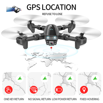 S167 GPS Drone with Camera RC Quadcopter Drone WiFi FPV Foldable Off-Point Flying Gesture Photos Video Helicopter Toy 3