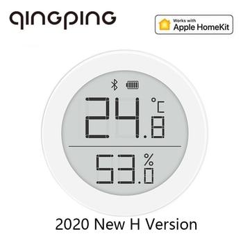 2020 Cleargrass Qingping termómetro Bluetooth higrómetro Sensor de temperatura y humedad compatible con Apple Siri y HomeKit