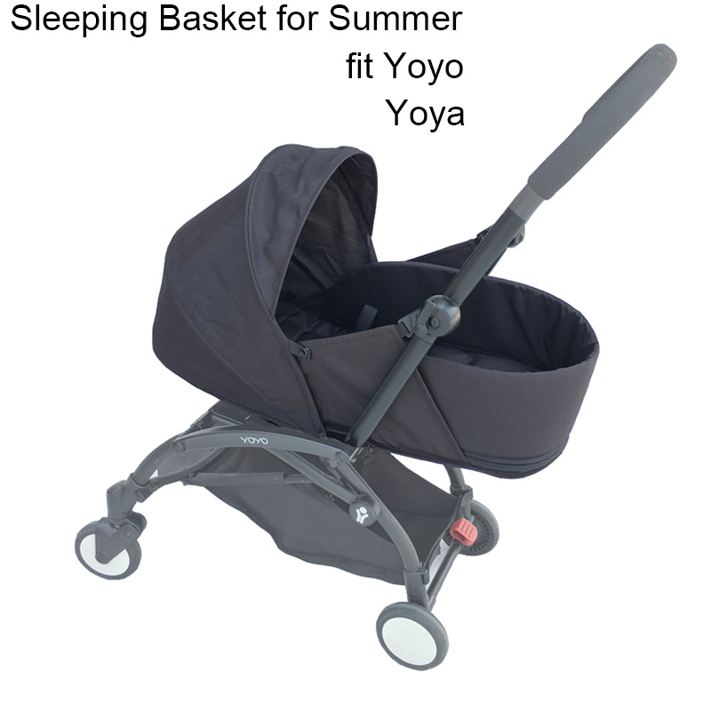 Baby Stroller Accessories Newborn Pack Sleeping Basket For Babyzen Yoyo Yoya Stroller Newborn Nest Summer Version