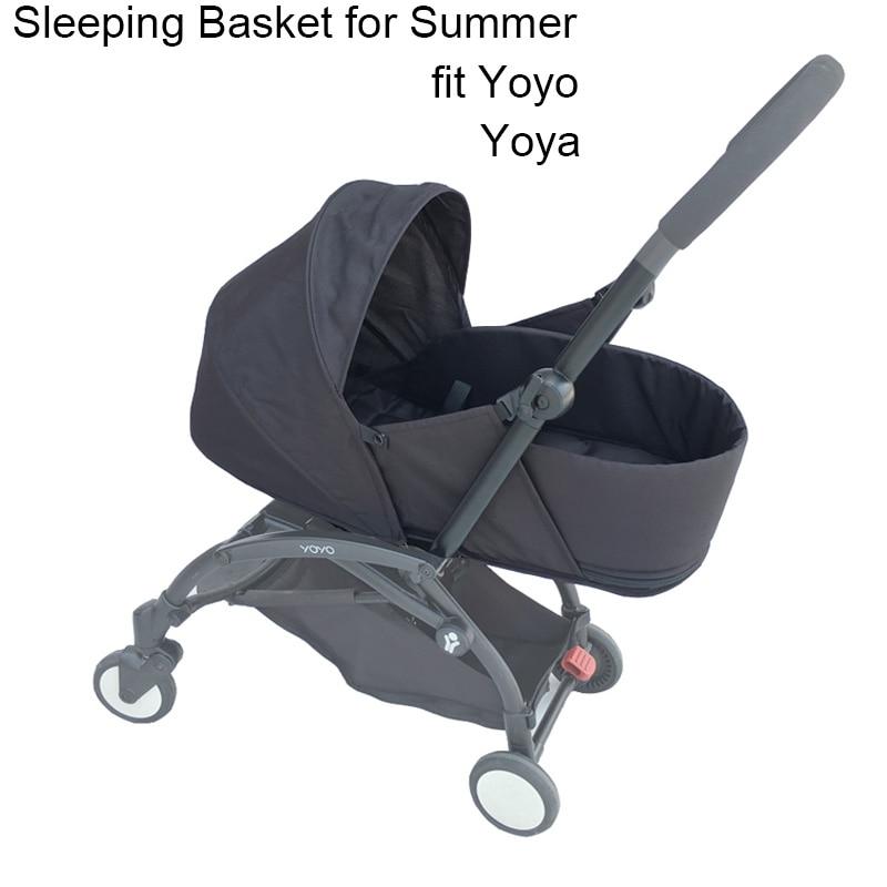 Baby Stroller Accessories Newborn Pack Sleeping Basket For Babyzen Yoyo Yoya Stroller Newborn Nest Summer Version