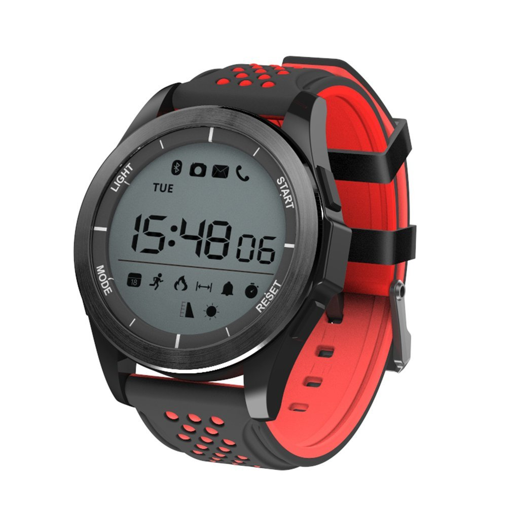 <font><b>NO.1</b></font> <font><b>F3</b></font> Sports Smartwatch Rotatable Dial 30m Waterproof Swimming Watch Pedometer Outdoor Wristwatch for Android IOS image