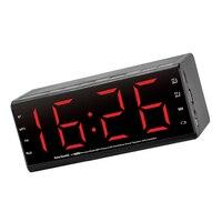 MX-20 Alta Qualidade Despertador 3D Stereo Speaker Com Mic Handfree Sem Fio Bluetooth Speaker Portátil 2000mah TF FM AUX