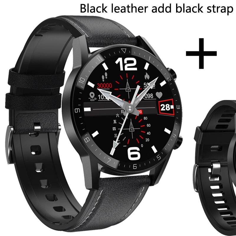 Bk leather add black