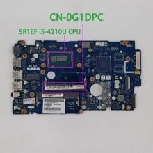CN 0G1DPC 0G1DPC G1DPC ZAVC0 LA B012PワットI5 4210U cpu dellのinspiron 15 5547 5447 ノートpcのラップトップのマザーボードマザーボード