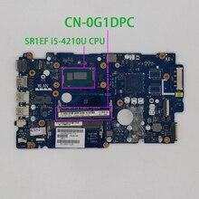 CN 0G1DPC 0G1DPC G1DPC ZAVC0 LA B012P w I5 4210U CPU 용 Dell Inspiron 15 5547 5447 노트북 PC 노트북 마더 보드 메인 보드