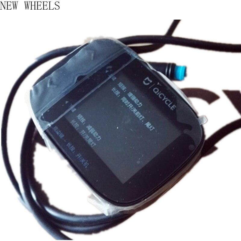 Peças da Bicicleta Qicycle Medidor Elétrico Dobrável Monitor Original Ef1