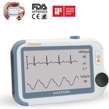 Монитор жизненных знаков и приложение ПК отчет, портативный экг трекер артериального давления монитор Пульсоксиметр FDA Viatom Checkme Pro Doctor