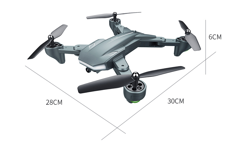 Visuo Xs816 Drone With 50 Times Zoom Wifi Fpv 4k Dual Camera Optical Flow Quadcopter Foldable Selfie Dron Vs Sg907