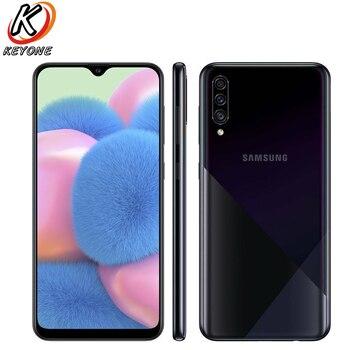 Перейти на Алиэкспресс и купить Новый Samsung Galaxy A30s A307GN-DS 4 Гб RAM 64/128 ГБ ROMMobile Phone 6,4 дюймтройная задняя камера 25MP 8MP 5MP камера с двумя sim-картами