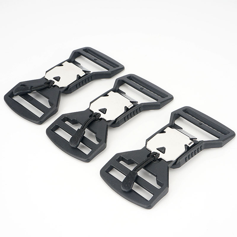 Magnetic Buckle Magnet Insert V Buckle 40 Function Easy To Open Magnetic Function Belt Buckle Silver: Length 10CM Wide 4.5cm