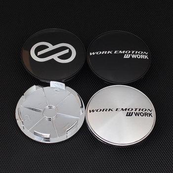4 sztuk pracy VOLK znaczek z symbolem 68MM 62MM koło samochodowe centrum Cap kołpaki pyłoszczelne okładki z ENKEI 8 Logo znaczek tanie i dobre opinie KOM POWER 6862 Japan