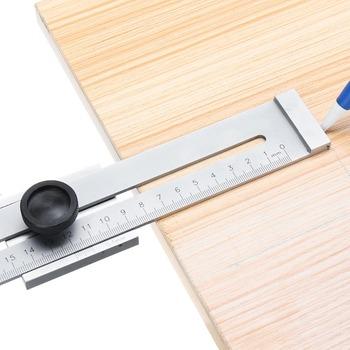 Śruba do cięcia oznaczenie Gauge Mark 200mm 250mm 300mm skrobak do obróbki drewna narzędzia do obróbki drewna narzędzia do obróbki drewna tanie i dobre opinie LISHEN CN (pochodzenie) Maszyny do obróbki drewna Screw Cutting Marking Gauge Mark