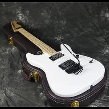 2019 Hot Sell Chavl Electric Guitar Z-WS3 FR Bridge White Color Maple Neck Standard Size