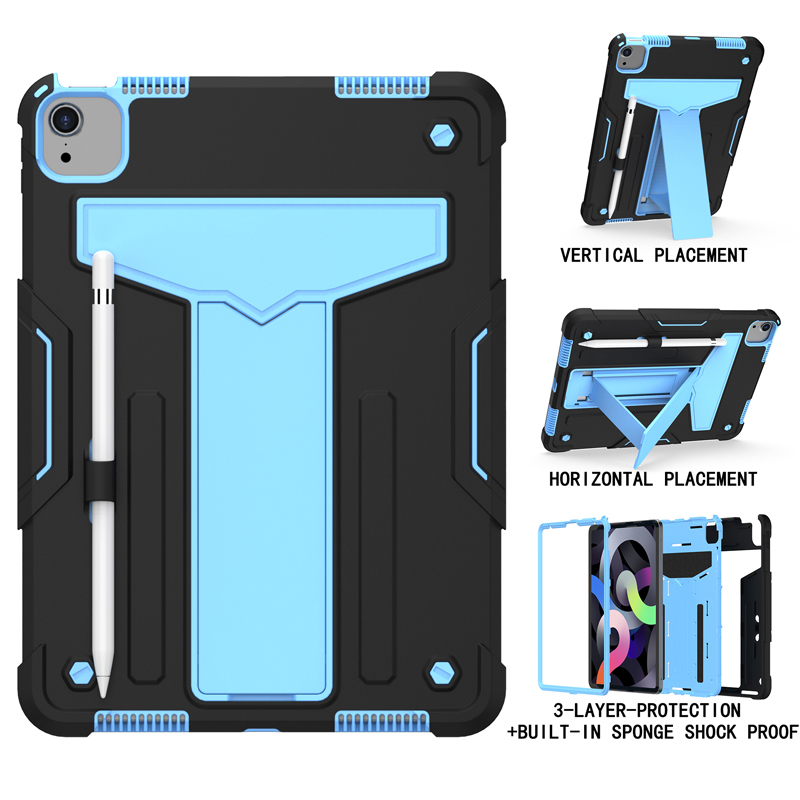 Black Blue Black Shock Proof Case For iPad pro 11 2020 A2228 A2231 A2068 A2230 11 inch Heavy Duty