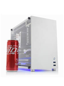 Computer-Case Chassis Mid-Tower Gaming Pc Microatx/itx Aluminum Metalfish S5 for Sfx-Power/135mm