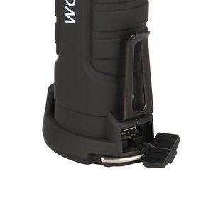 Mini stylo multifonction COB LED travail lumière Inspection réparation torche lampe de poche avec pince de Base magnétique pour la vente datelier de vélo