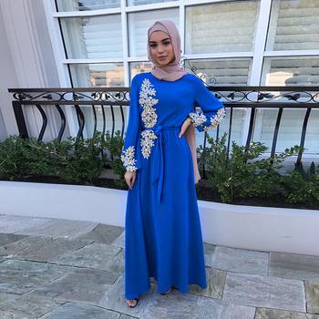 Kaftan Dubai Abaya Turkey Muslim Women Hijab Dress Islam Caftan Marocain Dresses Vestidos Eid Mubarak