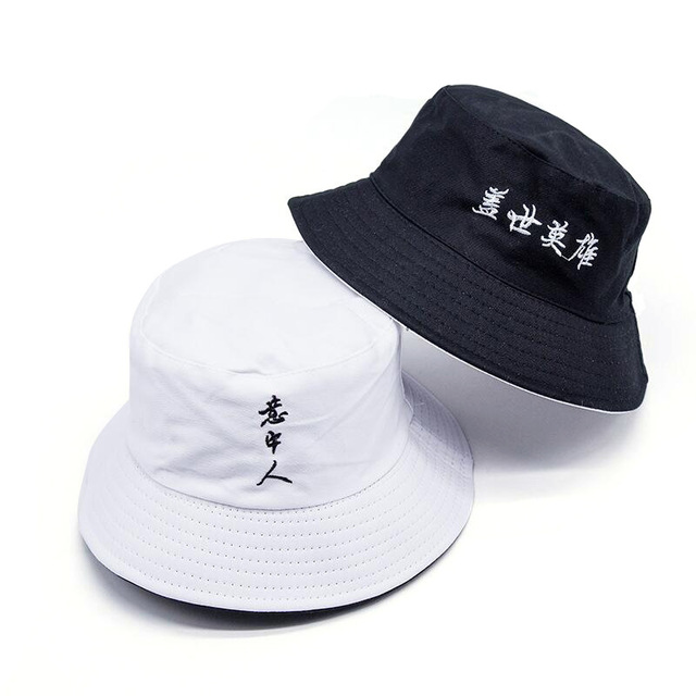 New Double-sided wear Solid color Bucket Hats shading flat caps outdoor fishing hunting fisherman sunscreen folding cap  ZM-06