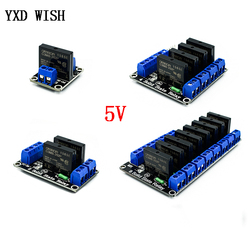 1/2/4 Channel 5V DC Relay Module Solid State Low Level G3MB-202P Relay SSR AVR DSP For arduino Voltage Realys Expansion Board