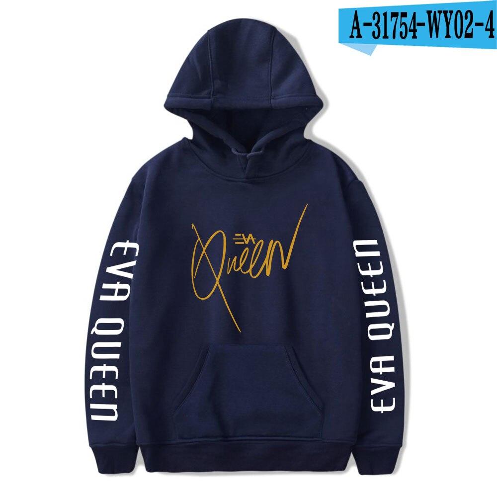 2020 Eva Queen Hoodies Men Casual Streetwear Sweatshirt Sudadera Hombre Eva Queen Hoodie For Men/Women 19