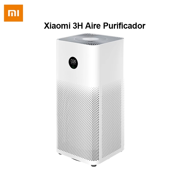 Purificador de aire Xiaomi 3 3H filtro Mi purificador de aire ozono fresco hogar auto humo formaldehído esterilizador cubo inteligente MIJIA APP Control|Purificadores de aire| - AliExpress