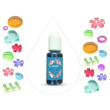 24 Colors Epoxy Pigment Translucent Liquid Resin Colorant for Resin Jewelry DIY 4X7E