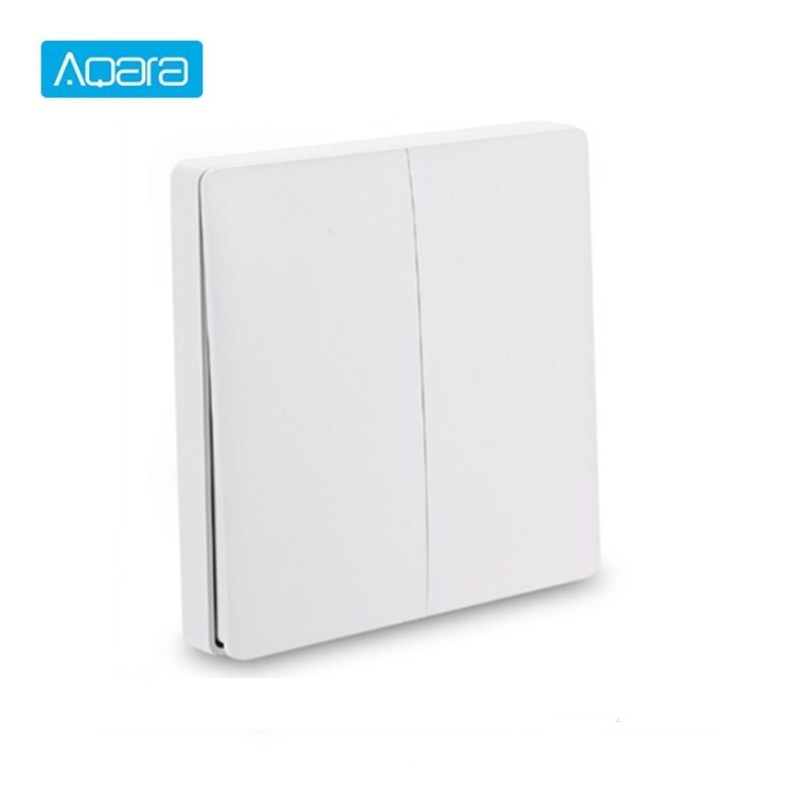 International Version Aqara Smart Switch Light Remote Control ZiGBee Wifi Wireless Key Wall Switch Work With Mijia Mi Home APP