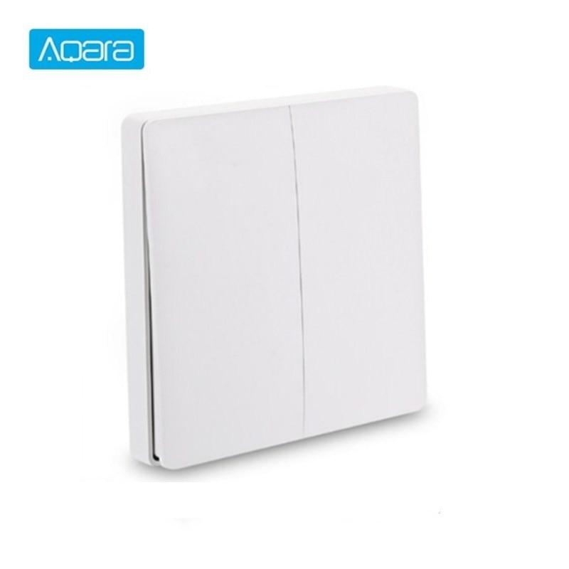 Internationalen Version Aqara Smart Switch Licht Fernbedienung ZiGBee wifi Wireless Key Wand Schalter arbeit mit mi jia mi Hause APP