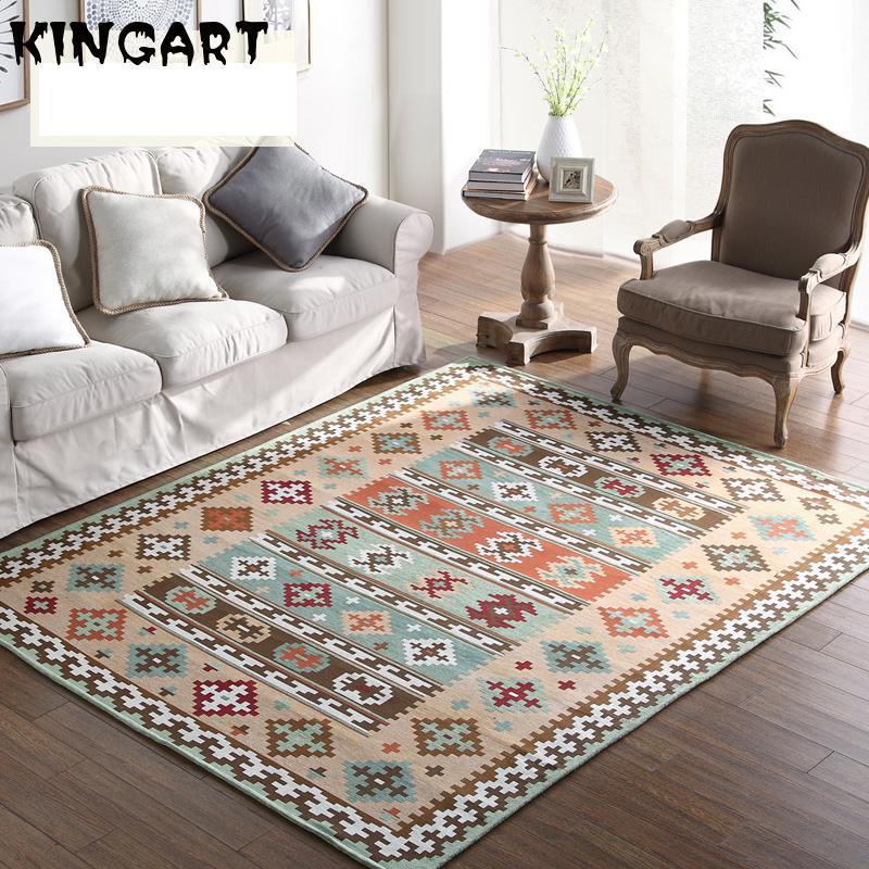 Carpet For Living Room Bedside Carpet Alfombra Floor Mat Thick Center Rug For Living Room Home Decor Floor Carpet Prayer Blanket