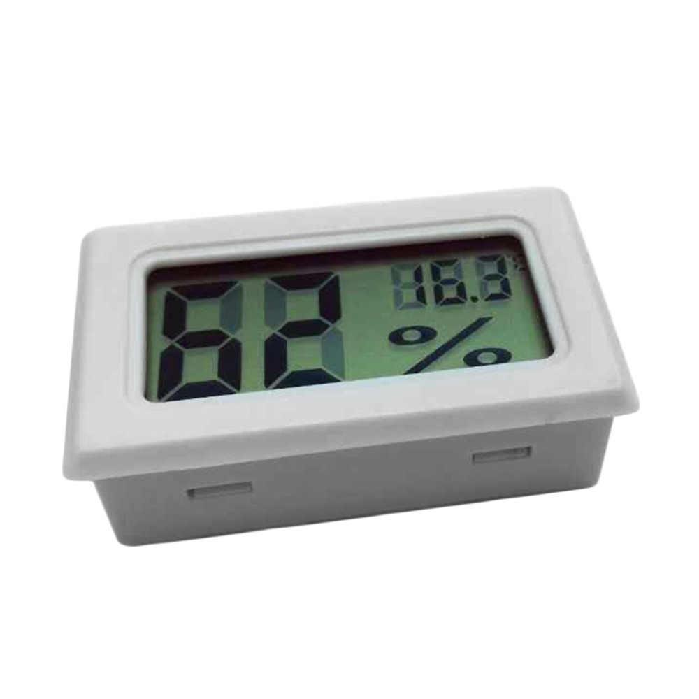 Мини цифровой ЖК-дисплей Крытый удобный датчик температуры измеритель влажности термометр гигрометр манометр Новое поступление по всему миру магазин