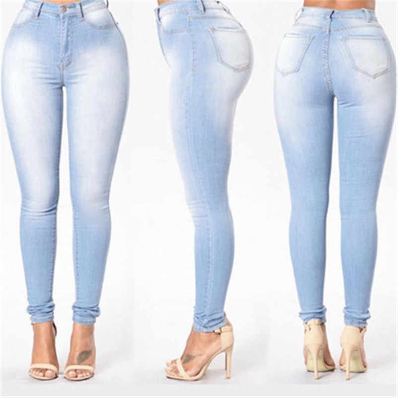 Pantalones Vaqueros 2020 De Alta Calidad Pantalones Capris Femeninos De Cintura Delgada Para Mujer Pantalones Vaqueros Para Chicas Trabajo De Talla Grande Perla Vintage Strech Coreano Pantalones Vaqueros Aliexpress