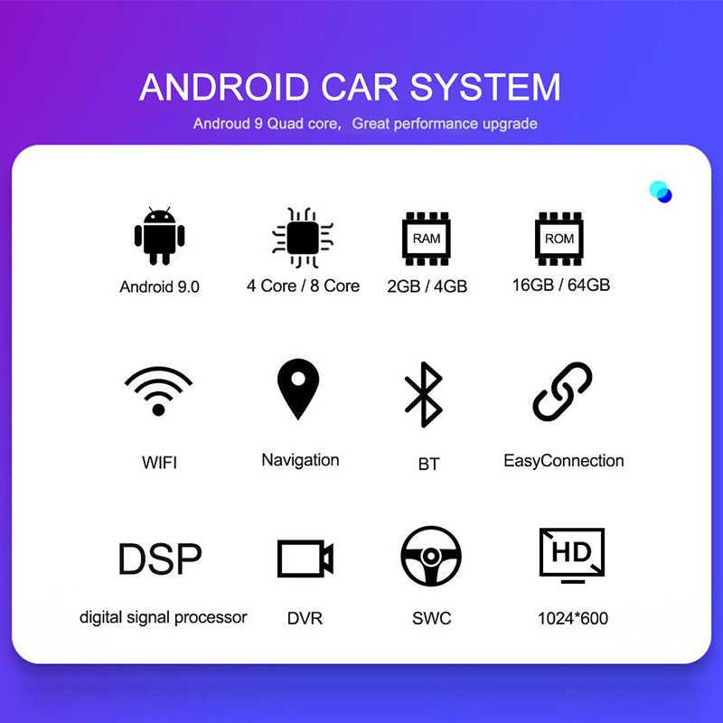 Navifly Android9.1 RDS 32 グラム ROM 2 グラム RAM 車のマルチメディアプレーヤーフォルクスワーゲン VW トゥアレグ T5 (2002- 2010) 4 グラム WIFI ラジオ Dvr BT と