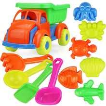 Детский пляжный игрушечный автомобиль детская игрушка песок