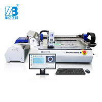 with PC and windows system mounter/high resolution ratio CCD pick and place machine