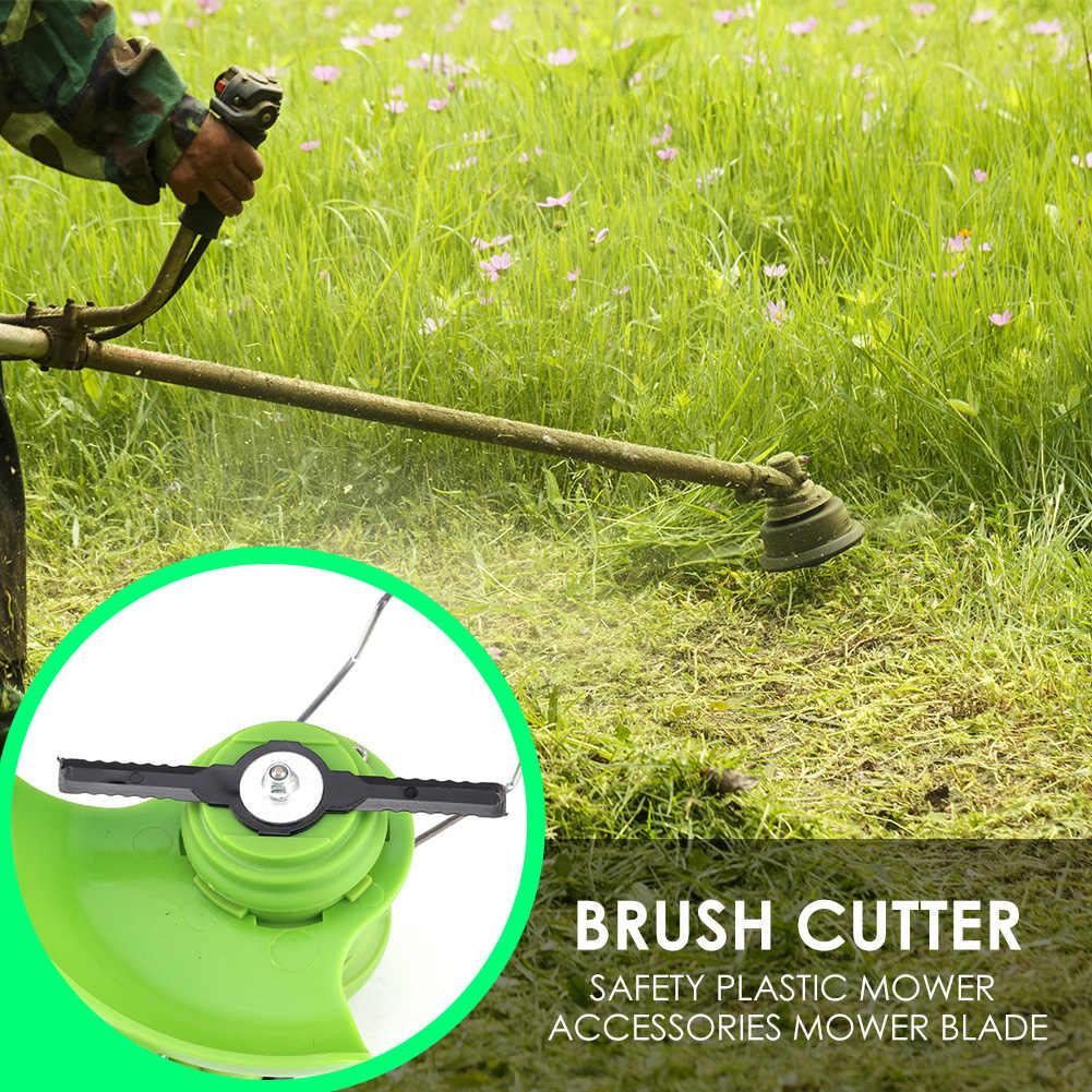 5Pcs Strimmer Brush Cutter Trimmer Blade Lawn Mower Garden Grass Head Replace