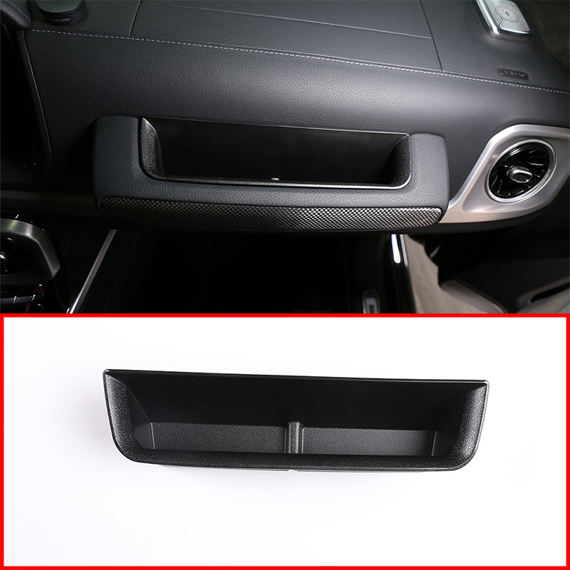 For Mercedes Benz G Class W464 Copilot Storage Box W463A G350 G500 G63 G65 Driving Storage Box 2019-2020 Interior Accessories