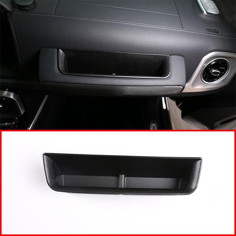 For Mercedes Benz G Class w464 Copilot Storage box w463A G350 G500 G63 G65 Driving Storage box 2019-2020 Interior accessories