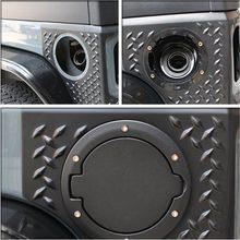 Firebug jeep tampa de gás capa de combustível do tanque de combustível porta de enchimento capa de gás para jeep wrangler jk & ilimitado 2007-2016 2/4 porta