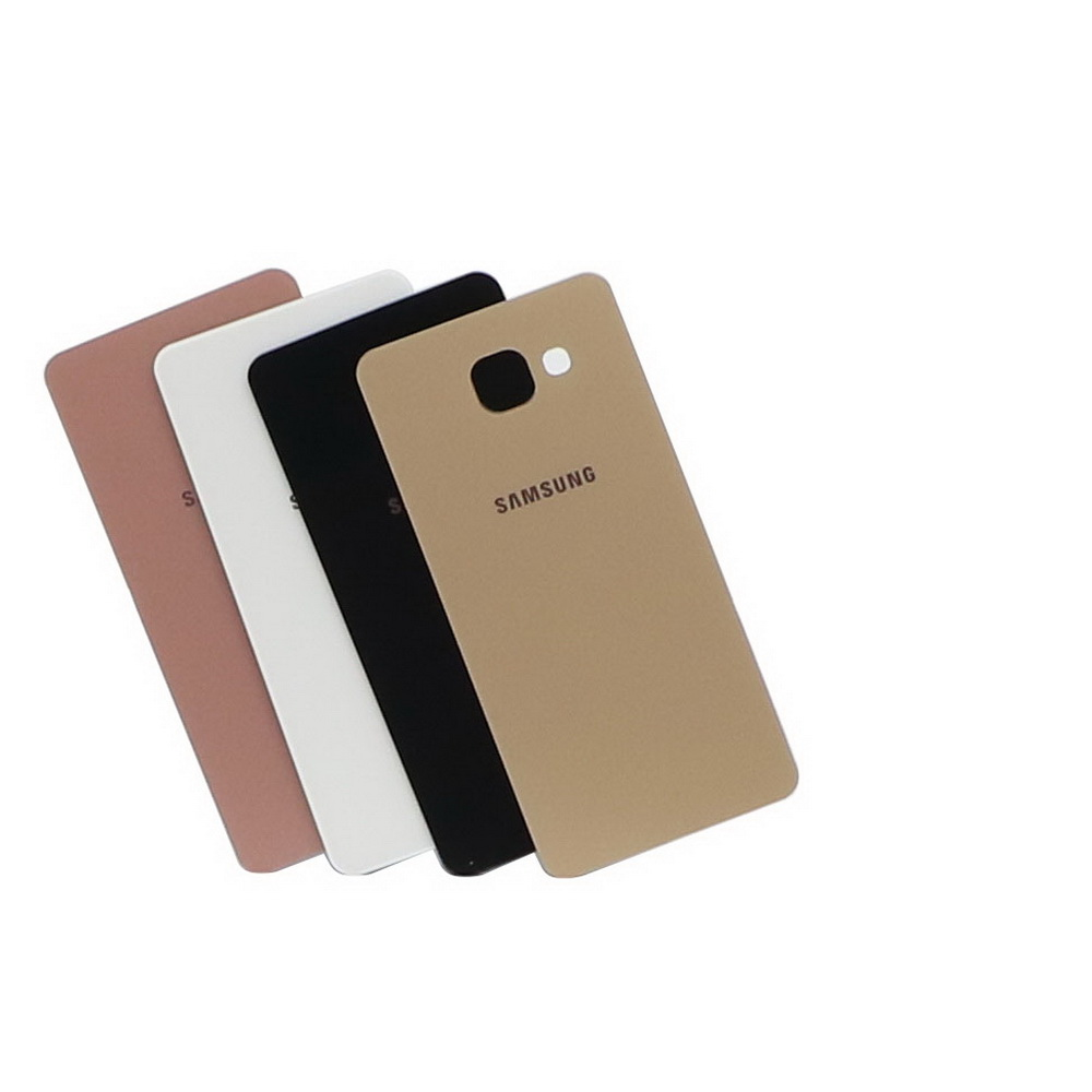 Top Quality For Samsung Galaxy  A510 A510F Back Battery Case 3D Glass Housing Cover For Samsung A5 2016 Back Door Replacement
