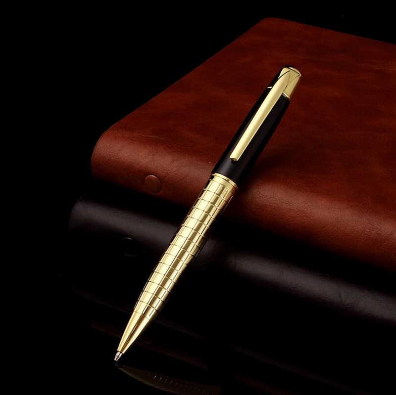 Thiết Kế Cổ Điển Kinh Doanh Nam Cao Cấp Kim Loại Bút Bi Chất Lượng Tốt Nhất Chữ Ký Viết Tặng Bút Mua 2 Bút Gửi Quà Tặng
