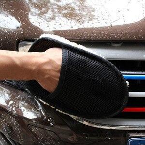 Image 3 - 2020 auto Waschen Handschuhe Reinigung Pinsel Auto Styling für Toyota Camry Highlander RAV4 Crown Reiz Corolla Vios Yaris