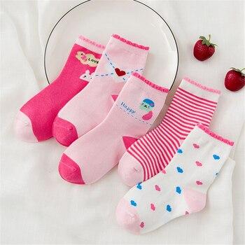 10 pieces/lot Unisex Skarpetki Newborn Sock Kids Boy Pink Rabbit Knit Cotton Soft Baby Socks Lovely Girl Children's Miaoyoutong 1