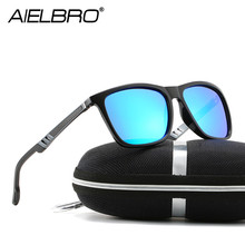 NEW Polarized Sunglass Sets for Men Women Sunglasses Aluminum Magnesium Foot Wire Classic Style Fashion Eyewear Gafas Ciclismo