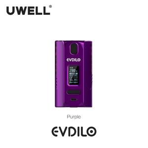 Image 4 - UWELL Evdilo תיבת Mod 200W תמיכה כפולה 18650 20700 21700 סוללות מהיר ירי Fit עבור Valyrian II טנק E סיגריות Vape Mod