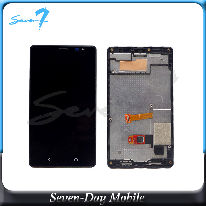 Touch Screen LCD Display For <font><b>NOKIA</b></font> X2 RM-<font><b>1013</b></font> LCD Screen Digitizer Touch Panel LCD Assembly image